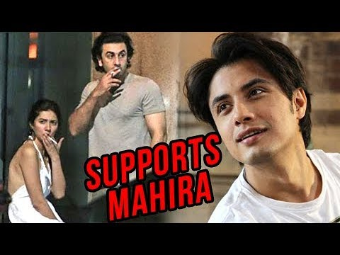 Ali Zafar's Open Letter on Ranbir Mahira's Affair