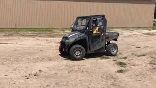 6. 2015 Kymco UXV 450i 4WD Utility Vehicle - BigIron Auctions, Sept. 19th!