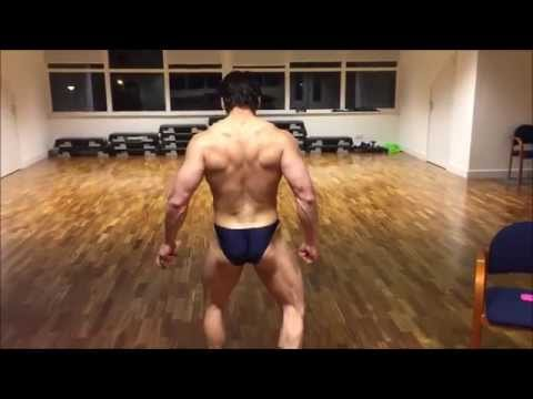 Leroy Kakiay 9 weeks out of Natural Bodybuilding World Championship