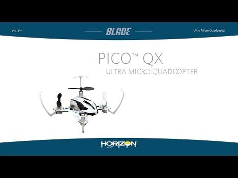 видео: Квадрокоптер Blade Pico QX