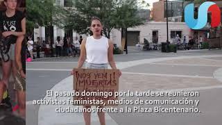 Activistas de Hermosillo exigen justicia para Mara Castilla
