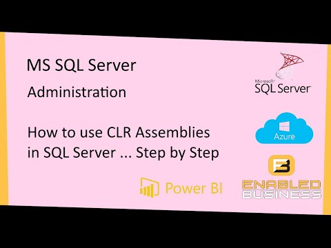 how to enable clr in sql server