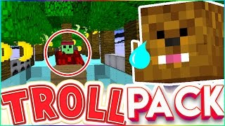 LITERALLY STEALING JEROME'S ENTIRE HOUSE - TROLL PACK SMP #26