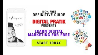 Learn Digital Marketing For Free in 2017https://goo.gl/oIQkAlLearn Digital Marketing For Free in 2017Where to learn digital marketing in 2017's Digital World?That's indeed a big and a very common question right now.The first thing that comes to the mind is going to a college.If I were you, I would never ever go to the college.It's the last place I would go to learn digital marketing.Following are the major reasons I would never ever go to a college to learn digital marketing:-- All the text books are out dated.-- Professors who teach there have never really done themselves    practically (most of the times).Learn Digital Marketing in 2017 – Where to Start From:https://goo.gl/oIQkAlLearn Digital Marketing For Free in 2017https://youtu.be/5sPXYsqUHgw