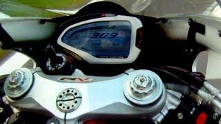 9. MV Agusta F4R 309 kmh in Monza