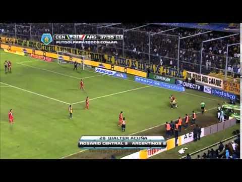 Rosario Central 3 - 2 Argentinos Jr. | Torneo Final 2014 | Fecha 19