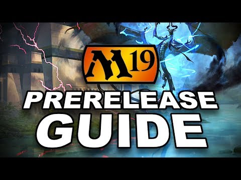 MTG - FULL M19 Core Set Prerelease Guide! Win The Magic: The Gathering Prerelease!