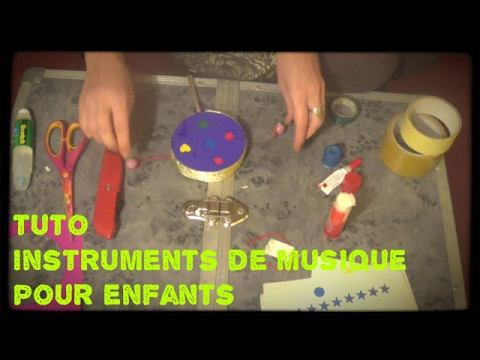 comment construire un instrument a percussion