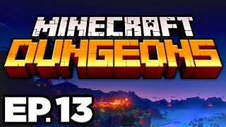 ARCH-ILLAGER BATTLE, HEART OF ENDER, OBSIDIAN PINNACLE - Minecraft Dungeons Ep.13 Gameplay Lets Play