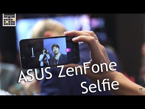 Asus zenfone selfie - смарт для... ну вы поняли  computex 2015 - keddr.com