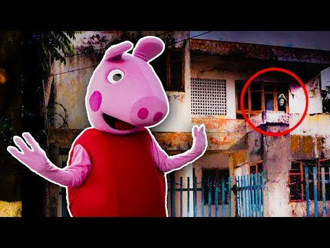 PEPPA PIG nos lleva a una CASA ABANDONADA  Peppa Pig en Español Episodio completo  Pepa la cerdita