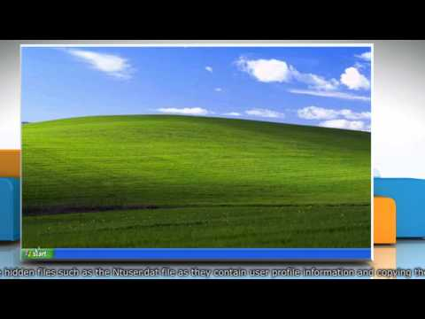 Creating new User Profile and transfer data files in Windows® XP