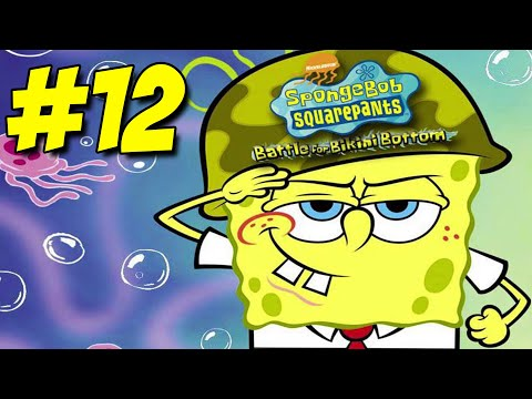 Spongebob Squarepants Battle for Bikini Bottom – Walkthrough Part #12 – Prawn!