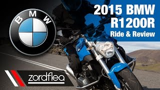 9. 2015 BMW R1200R - Ride and Review