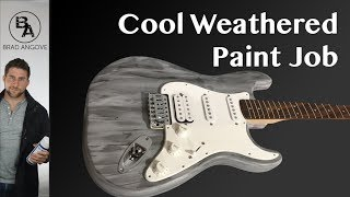 Video How to do a cool weathered finish on your guitar MP3, 3GP, MP4, WEBM, AVI, FLV Juni 2018