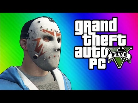 GTA 5 PC Online Funny Moments – Clapping Man & Defending the Hangar!