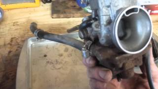 6. How to Service a Honda ATV 4-wheeler Carburetor: Remove, Clean, Rebuild, Install