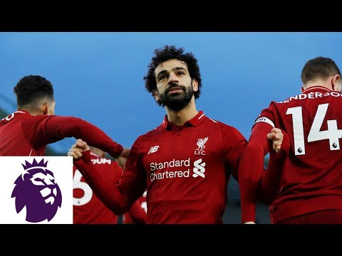 Video: Mohamed Salah's penalty kick puts Liverpool in front | Premier League | NBC Sports