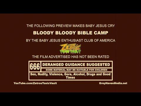 Zetro's Toxic Vault - Movie Night: Bloody Bloody Bible Camp