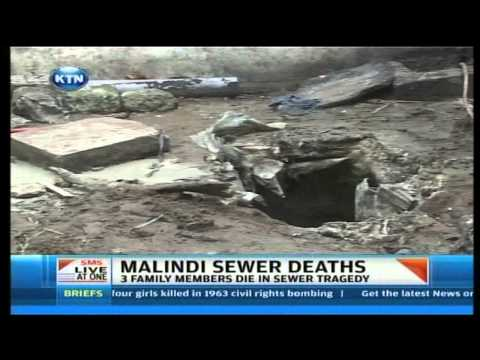 Three die in a sewer in Malindi