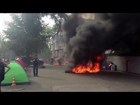Ουκρανία: Πυρκαγιά ξέσπασε σε τηλεοπτικό σταθμό