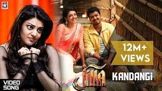 Jilla Movie Songs - Kandaangi Kandaangi Song - Mohanlal, Kajal, Vijay