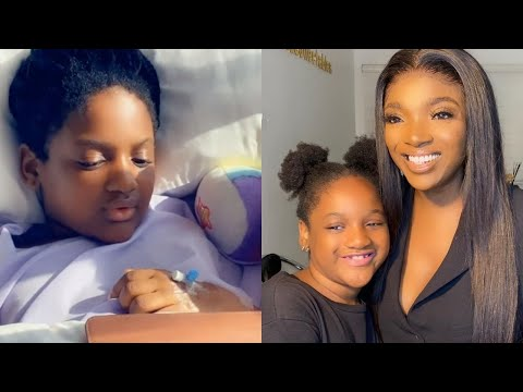 2face and Annie Idibia's daughter Olivia undergoes surgery