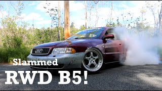 iBreakAudis | Slammed RWD Audi B5 | Feature Video by Ignition Tube