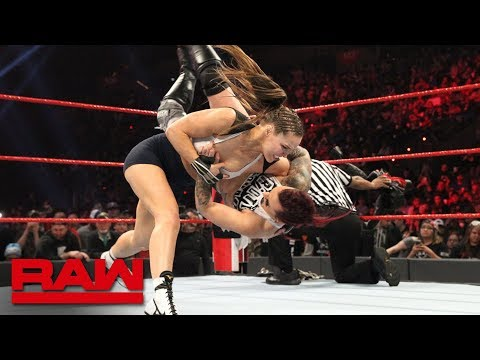 Ronda Rousey vs. Ruby Riott - Raw Women's Championship Match: Raw, Feb. 18, 2019