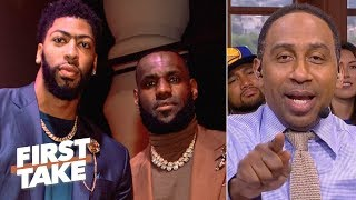 Video Stephen A. predicts a 2020 Lakers championship if Anthony Davis joins LeBron | First Take MP3, 3GP, MP4, WEBM, AVI, FLV Juni 2019