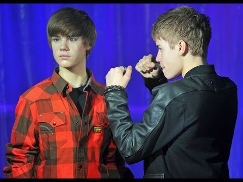 JUSTIN BIEBER: Wax Figure Meltdown?