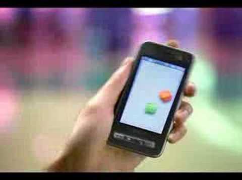 SAMSUNG Anycall Haptic Phone cf 3 (видео)