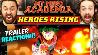 MY HERO ACADEMIA: Heroes Rising | MOVIE TRAILER - REACTION!!! by The Reel Rejects