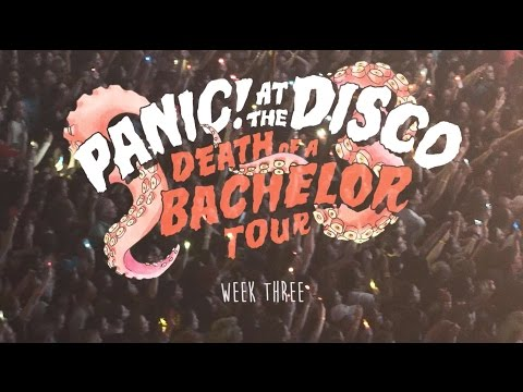 Panic! At The Disco - Death Of A Bachelor Tour (Week 3 Recap)