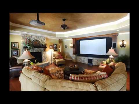 Home theater family room design (видео)