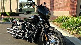 4. Club Style 2018 Softail Street Bob Harley-Davidson│ Full Parts Details