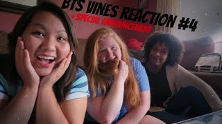 Mia and Friends react to: BTS VINES #4