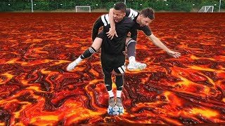 Video THE FLOOR IS LAVA | FOOTBALL EDITION! MP3, 3GP, MP4, WEBM, AVI, FLV September 2018