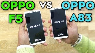Video OPPO F5 VS OPPO A83 Speed Test MP3, 3GP, MP4, WEBM, AVI, FLV Februari 2018