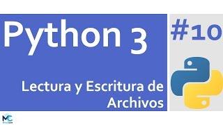 ¡Si te gusto el tuto, puedes donar! : https://www.paypal.me/mitocode/1En python es muy sencillo leer y escribir archivos, en este tutorial aprenderás la forma práctica de realizarlo y algunas consideraciones a tener en cuenta.Sígueme ;)http://www.mitocodenetwork.comhttp://www.facebook.com/mitocodehttp://www.twitter.com/mitocodehttp://www.google.com/+MitoCodehttp://www.github.com/mitocode21
