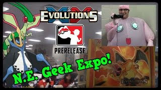 Vlog! N E Geek Expo and XY Evolutions Prerelease! by Master Jigglypuff and Friends