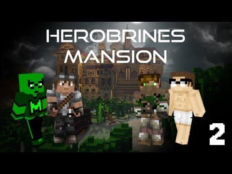 Minecraft Herobrine's Mansion Part 2: Ground Floor and Quest 3