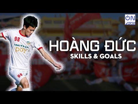 Nguyễn Hoàng Đức • Best Skills & Goals | Zidane mới của bóng đá Việt Nam - Thời lượng: 3 phút, 50 giây.