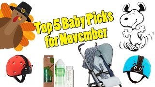 Top 5 Most Viewed Baby Products from November! SafeheadBABY, Peanuts LeSportSac