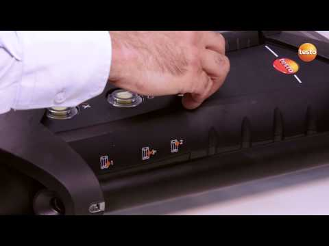 testo 350 Gas Analyser - Step 9 - How to Test & Replace Dirt