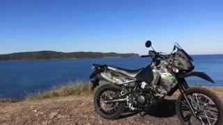 7. Kawasaki KLR650 Review