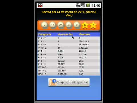 Video of EuroDroid EuroMillions Manager