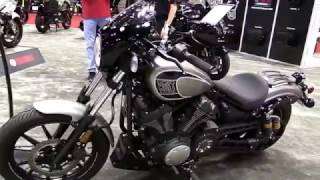 1. 2018 Yamaha Bolt R Spec Silver Shadow Limited Walkaround Review Look in HD