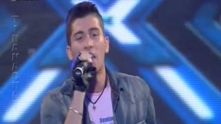 X Factor Albania 2 - 18 Nentor 2012 - Rezart Saliaj