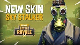 Video New Skin Sky Stalker!! - Fortnite Battle Royale Gameplay - Ninja & Hysteria MP3, 3GP, MP4, WEBM, AVI, FLV Juni 2018